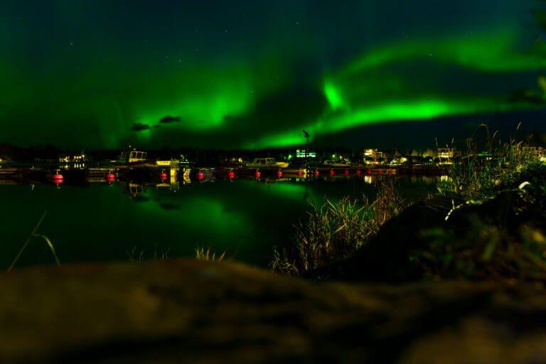Auroras in Raahe