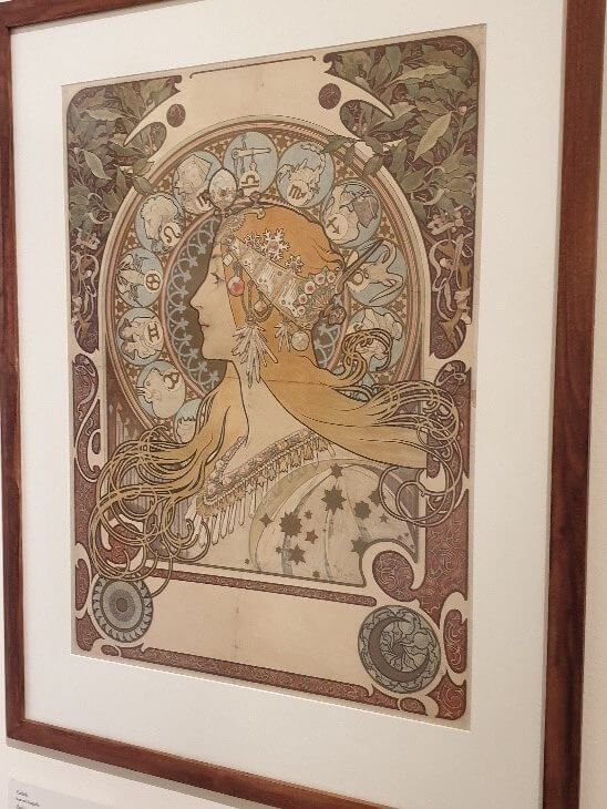 The works of arts by Alphons Mucha
