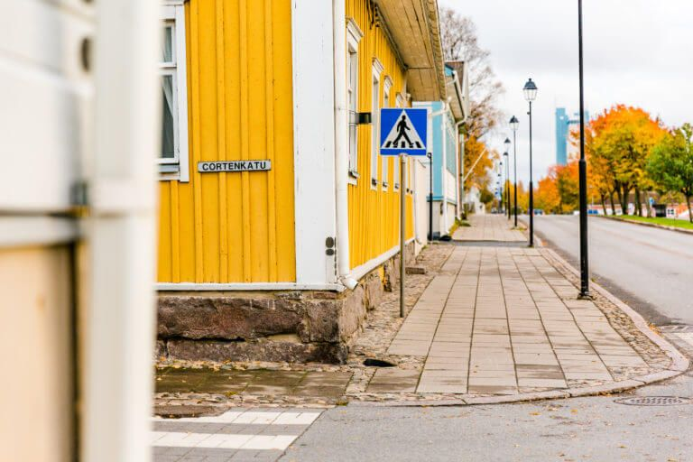 Street view from Raahe